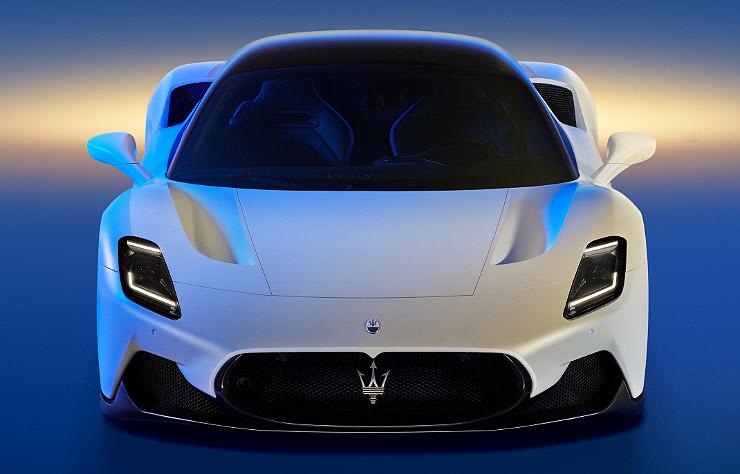 Maserati MC20 supercar électrique