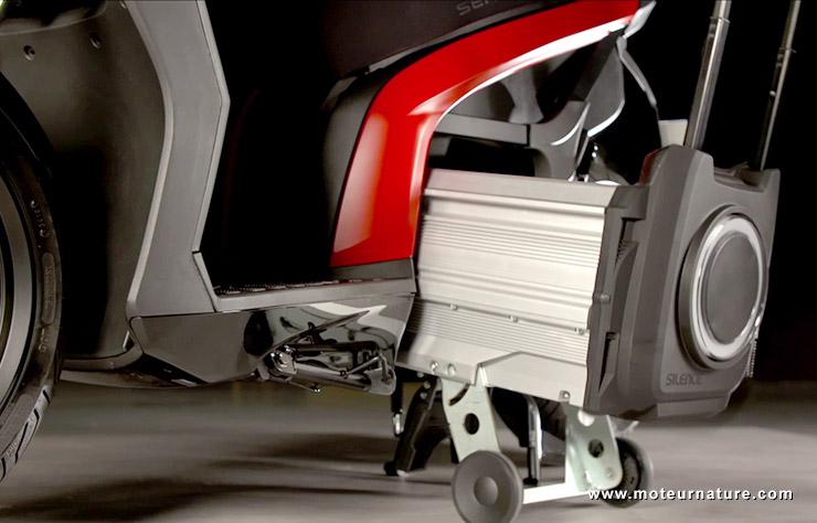 Scooter électrique Seat Mo