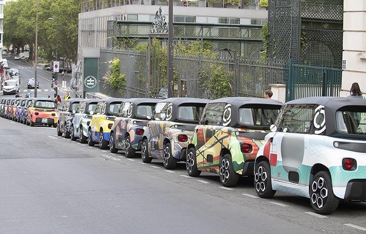 Citroën Ami aime Paris