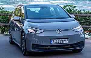 Volkswagen ID.3: 531km avec 58kWh