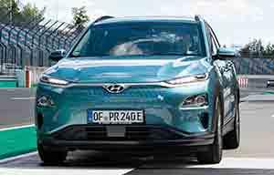 1026km sans recharger en Hyundai Kona électrique