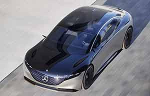 Mercedes EQS: une grande autonomie grâce à une aérodynamique active?