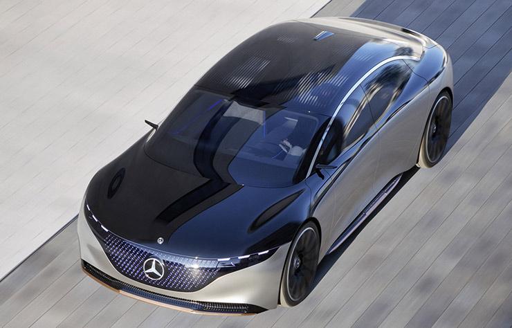 Concept Mercedes Vision EQS