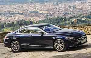 Coupé classe S, une belle Mercedes qui s'en va