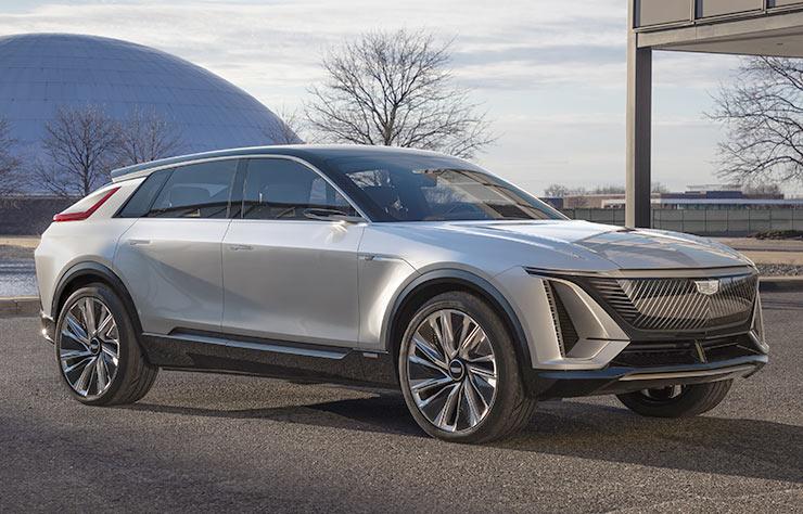 Cadillac Lyriq électrique concept
