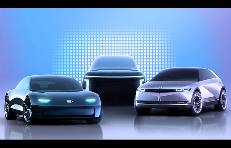 La future gamme Ioniq