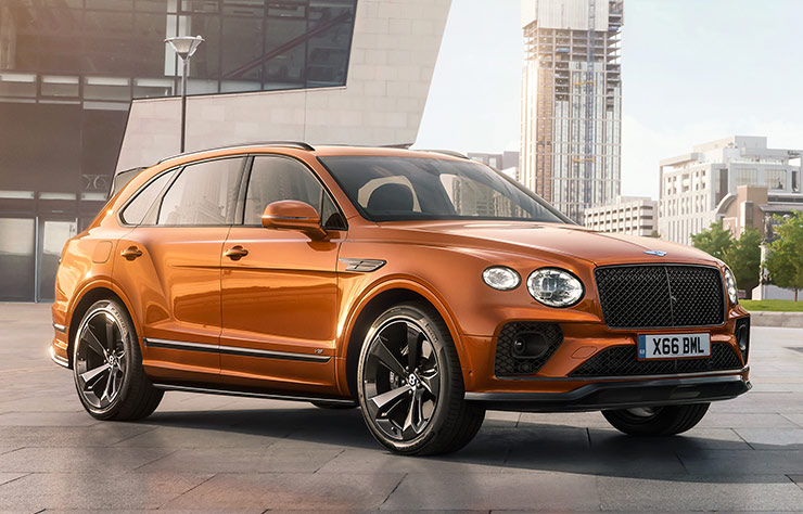 Bentley Bentayga avec échppement Akrapovic