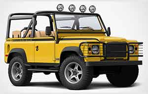 Les bonnes vieilles Land Rover électrifiées par Twisted