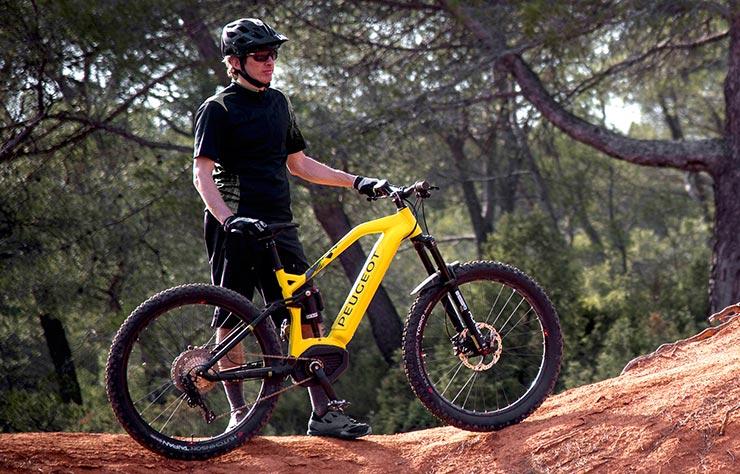 e-Bike Peugeot vélo tout terrain à assistance électrique