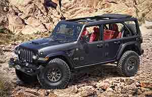 Jeep Wrangler Rubicon 392 Concept: 50 ans de retard