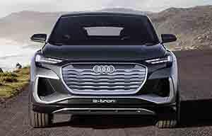 Audi: le Q4 e-tron aussi aura son Sportback