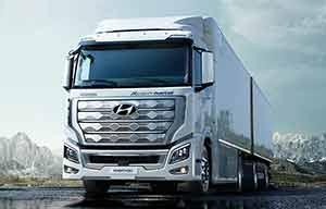 Poids lourd à hydrogène, Hyundai tire le premier avec son XCIENT