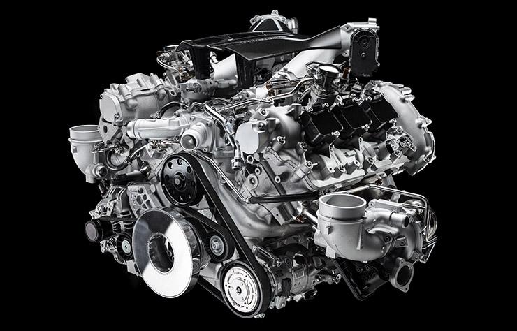 moteur Maserati Nettuno