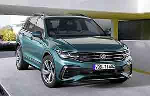 Le Volkswagen Tiguan GTE hybride rechargeable aura 245ch
