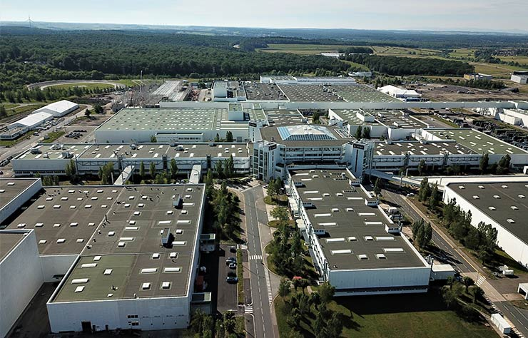 usine Smart de Hambach