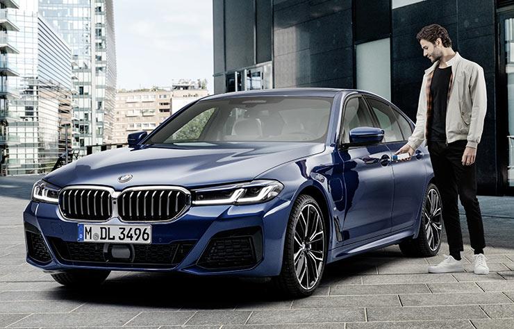 La clé dans le smartphone chez BMW