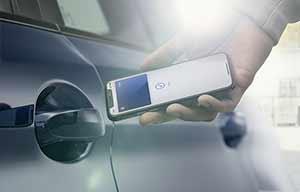 BMW va presque généraliser le smartphone comme clé