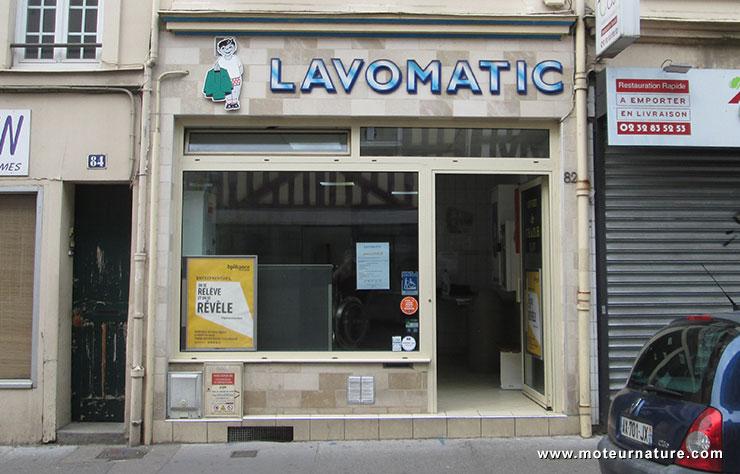 Laverie automatique à Rouen