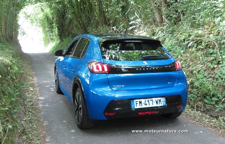 Peugeot e-208 électrique