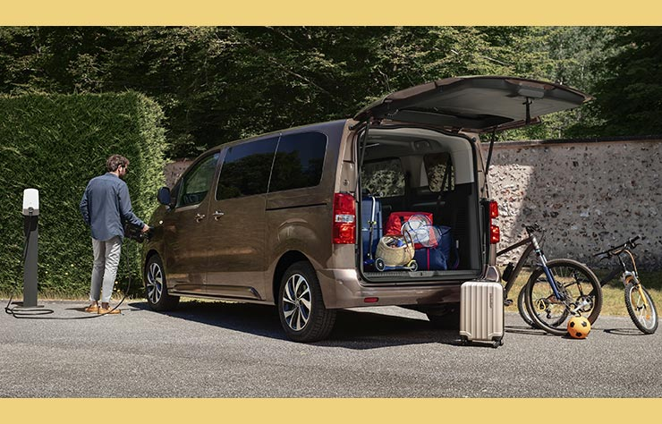 Citroën ë-Spacetourer, monospace électrique