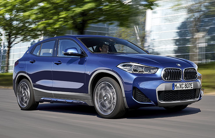 BMW X2 xDrive25e hybride rechargeable