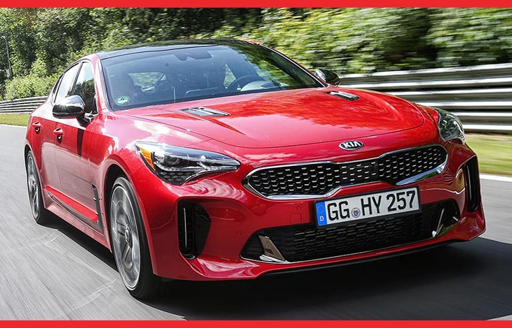 Kia Stinger V6 turbo-essence actuelle