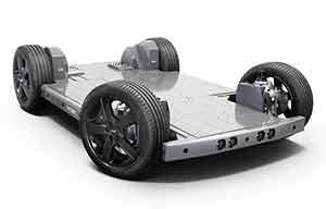 REE avec KYB pour commercialiser un chassis skateboard