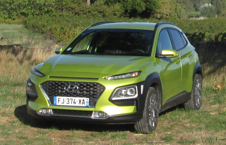 Les roues vertes de MoteurNature : Hyundai Kona Hybrid