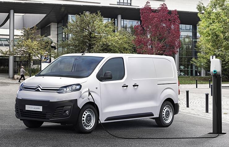 Utilitaire électrique Citroën e-Jumpy