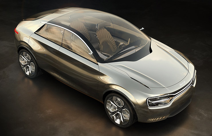concept électrique Kia Imagine