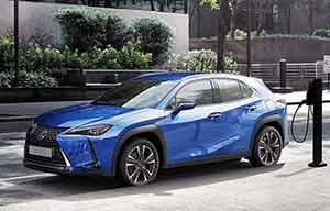Lexus UX300e, batterie garantie 1 million de km