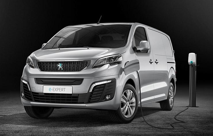 Utilitaire électrique Peugeot e-Expert