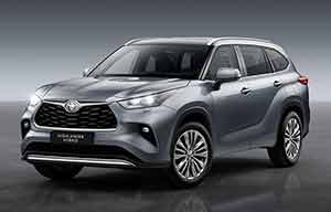Toyota Highlander, le grand SUV hybride arrive en Europe