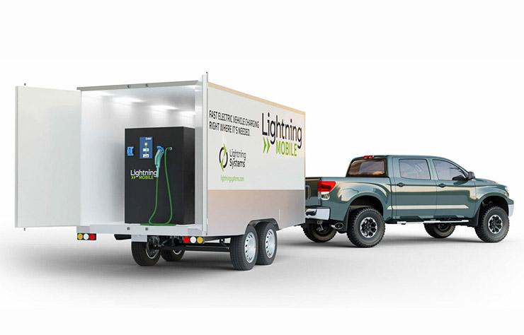Batterie stationnaire pour véhicule mobile