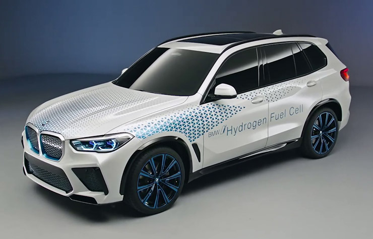 BMWi X3 Hydrogen Fuel Cell