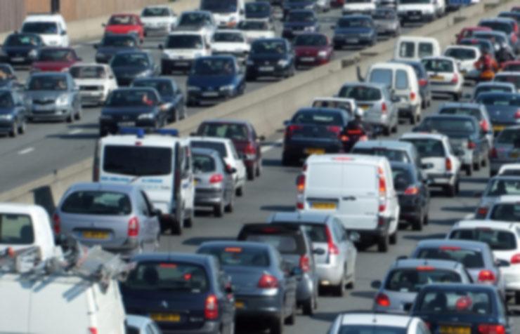 Embouteillage en France