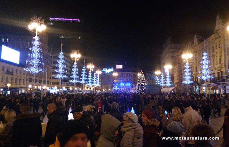 Fête de l'Avent à Zagreb, Croatie