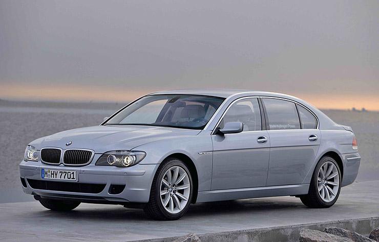 BMW série 7 à hydrogène de 2005
