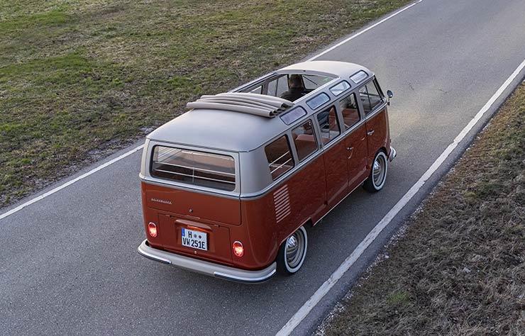 1966 Volkswagen E-Bulli électrifié