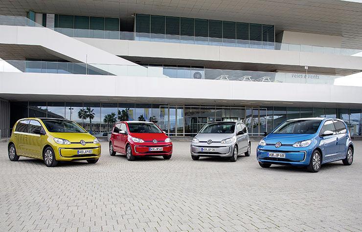 Volkswagen e-up électrique