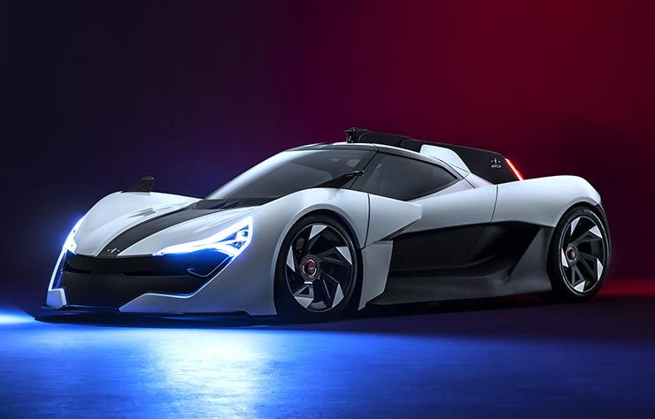 Apex AP-0 supercar électrique
