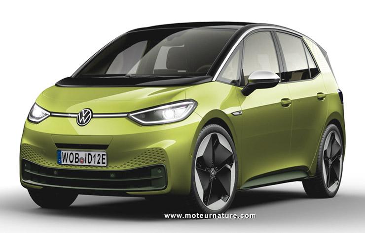 Esquisse Volkswagen ID.1