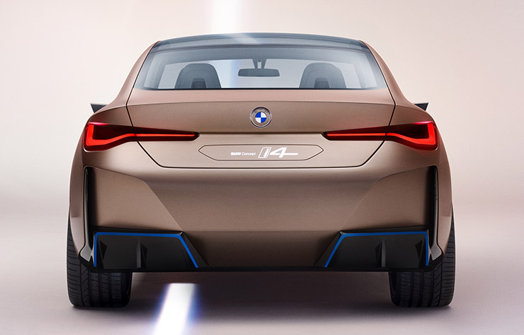 Concept BMW i4 électrique
