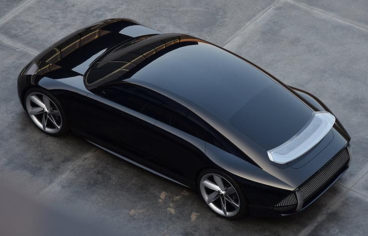 Hyundai Prophecy concept électrique