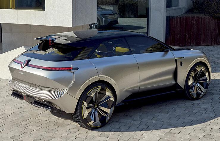 concept électrique Renault Morphoz