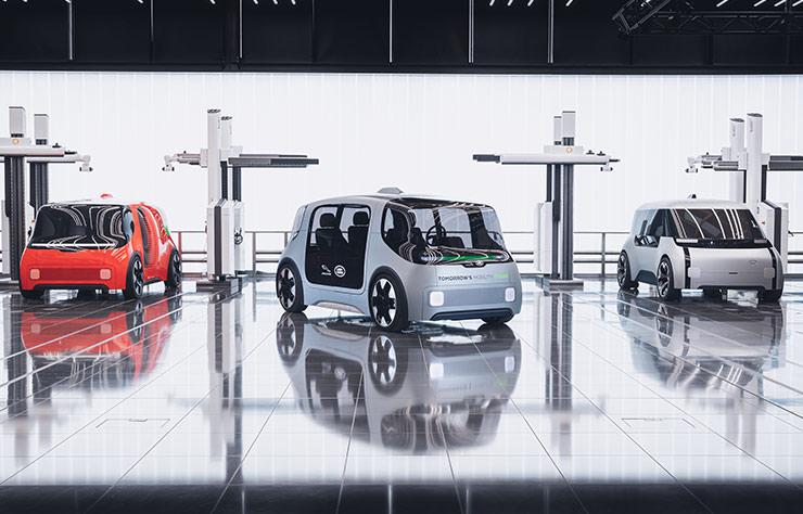Jaguar Land Rover Vector prototype électrique autonome