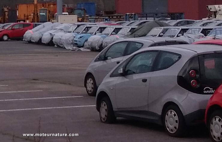 Bolloré Bluecar électrique