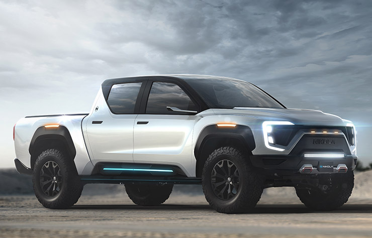 Pick-up électrique Nikola Badger