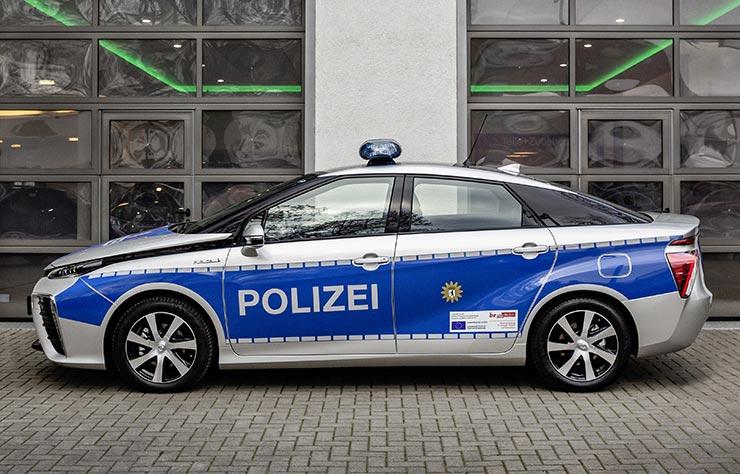 Toyota Mirai de la police de Berlin