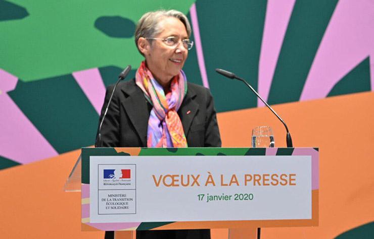 Elizabeth Borne, ministre de l'écologie